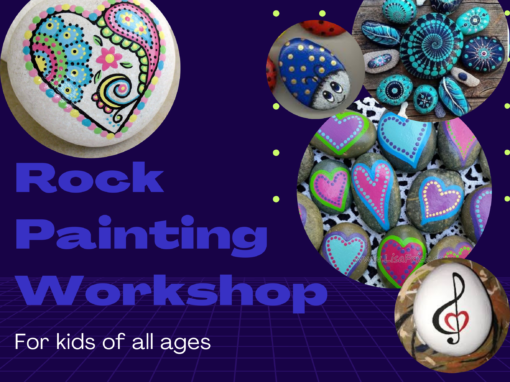 Rock Painting Workshop with Catherine McGee