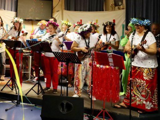 Ukulele Strum-along session with '4 Strings Sing',